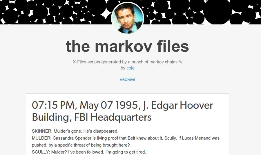 markov-files