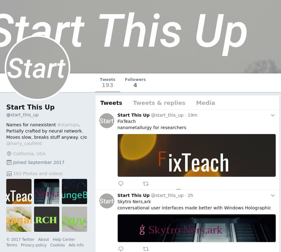 @start_this_up