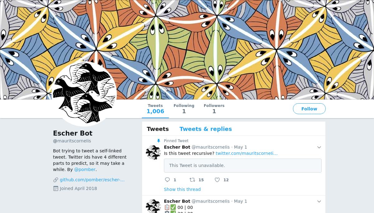 Escher Bot