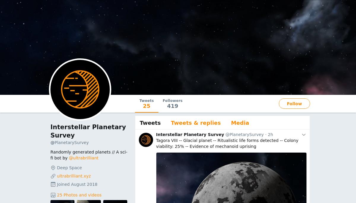 Interstellar Planetary Survey