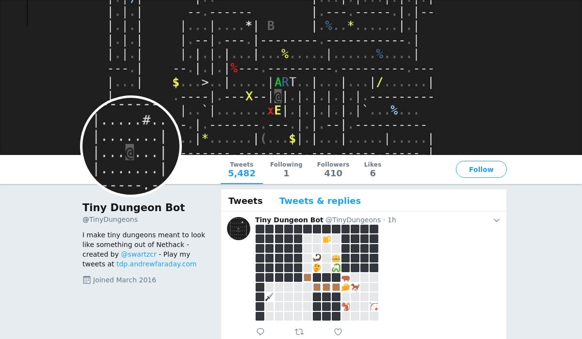 Tiny Dungeon Bot