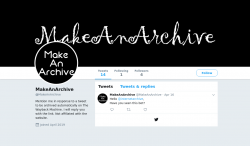 @MakeAnArchive