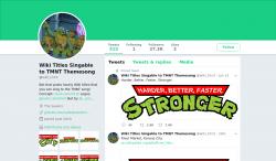 Wiki Titles Singable to TMNT Themesong