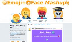Emoji + Face Mashup Bot