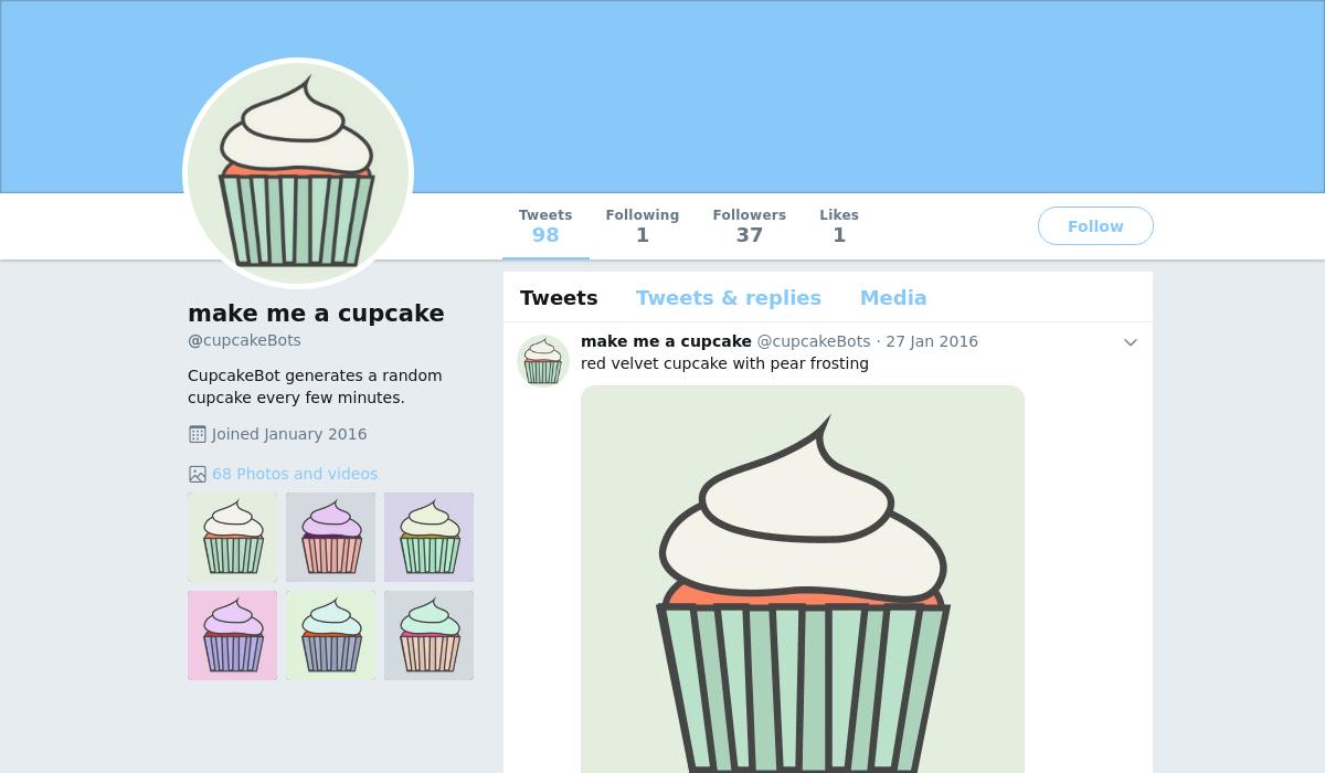 Make me a cupcake