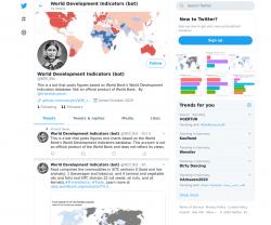 World Development Indicators (bot)